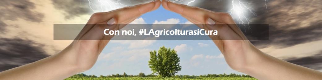 Con noi, #LAgricolturasiCura